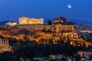 greece-athens-parthenonatnight